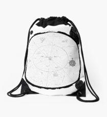 The Void Ocean Map (no key) Drawstring Bag