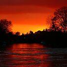 Red Sky at Night by looneyatoms
