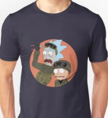 Rick and Morty in CSGO Unisex T-Shirt