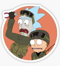 Rick and Morty in CSGO Sticker
