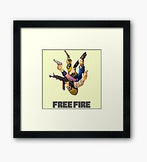 Free Fire Gun Fight Framed Print