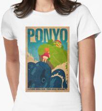 Ponyo Women's Fitted T-Shirt