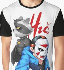 H2o & Batcoon Squad 2 Graphic T-Shirt