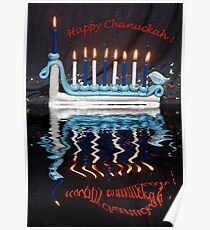 Happy Chanuckah Poster