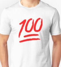 Camiseta unisex 100 [rojo]