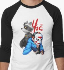 H2o & Batcoon Squad 2 Men's Baseball ¾ T-Shirt