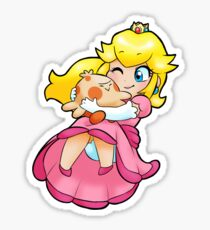 Princess of the Shroomish Kingdom Sticker