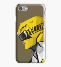 Yellow Ranger iPhone Case/Skin