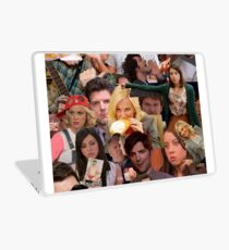 Parks and Recreation collage Laptop Skin