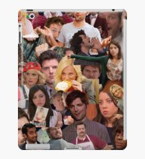Parks and Recreation collage iPad Case/Skin