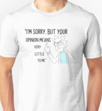 Rick Opinion III T-Shirt
