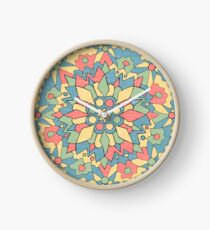 I tried to create a mandala Clock