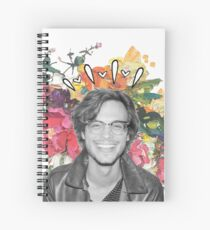 Matthew With Paint Spiral Notebook
