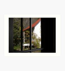 Bunkhouse Reflected Art Print