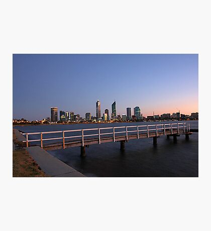 Perth At Dawn Photographic Print