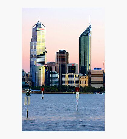 Perth Towers At Sunrise  Photographic Print