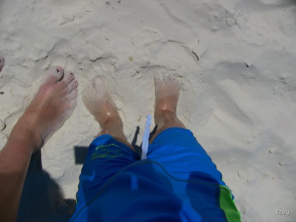 White Feet by lizey