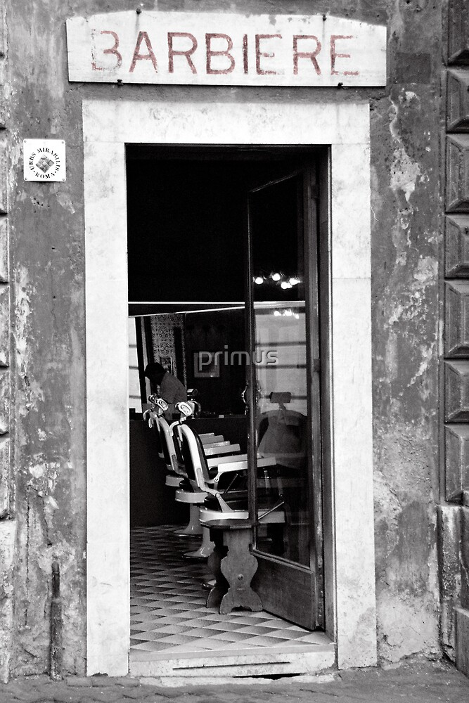 Barbers Shop (Italy) by primus