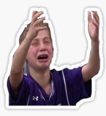 Crying Northwestern Boy Child  Sticker