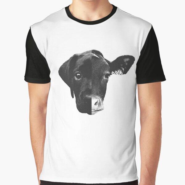 Animal Equality - (Black & White) Graphic T-Shirt
