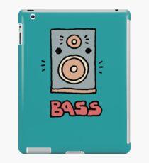 Bass Speaker  iPad Case/Skin
