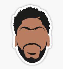 Anthony Davis Face Art Sticker
