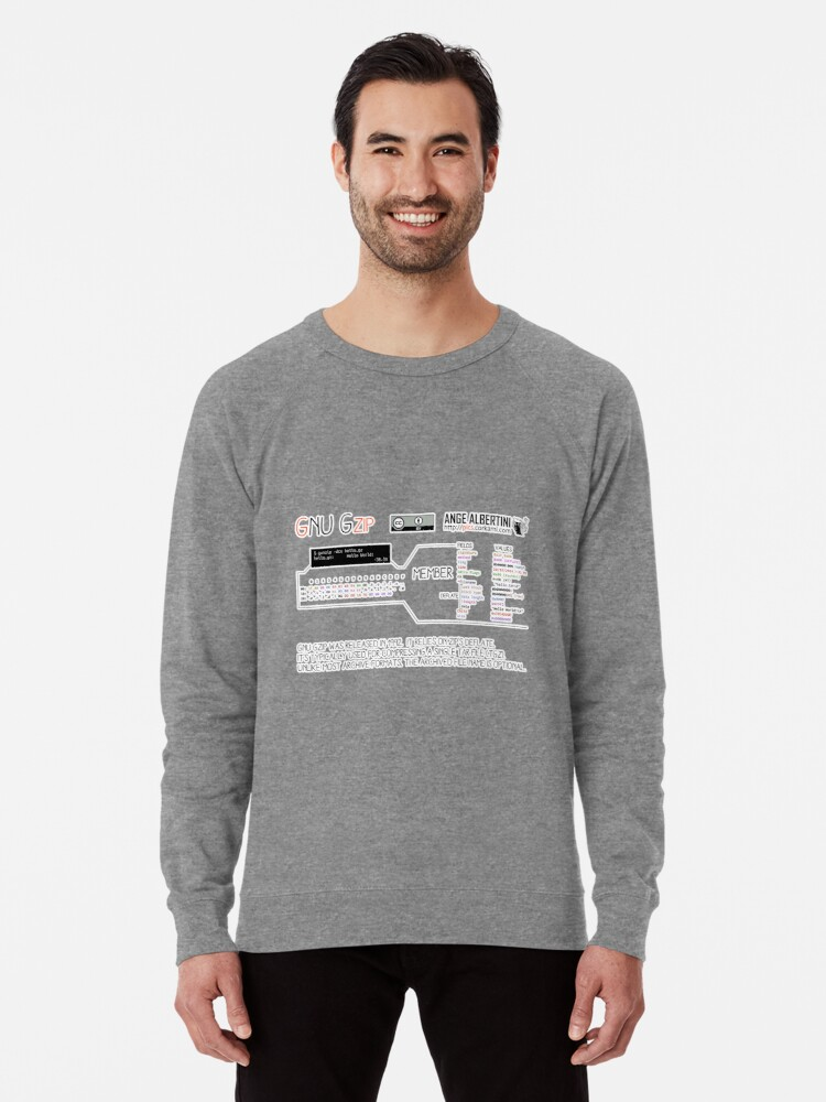 Alternate view of .GZ: GZIP Lightweight Sweatshirt