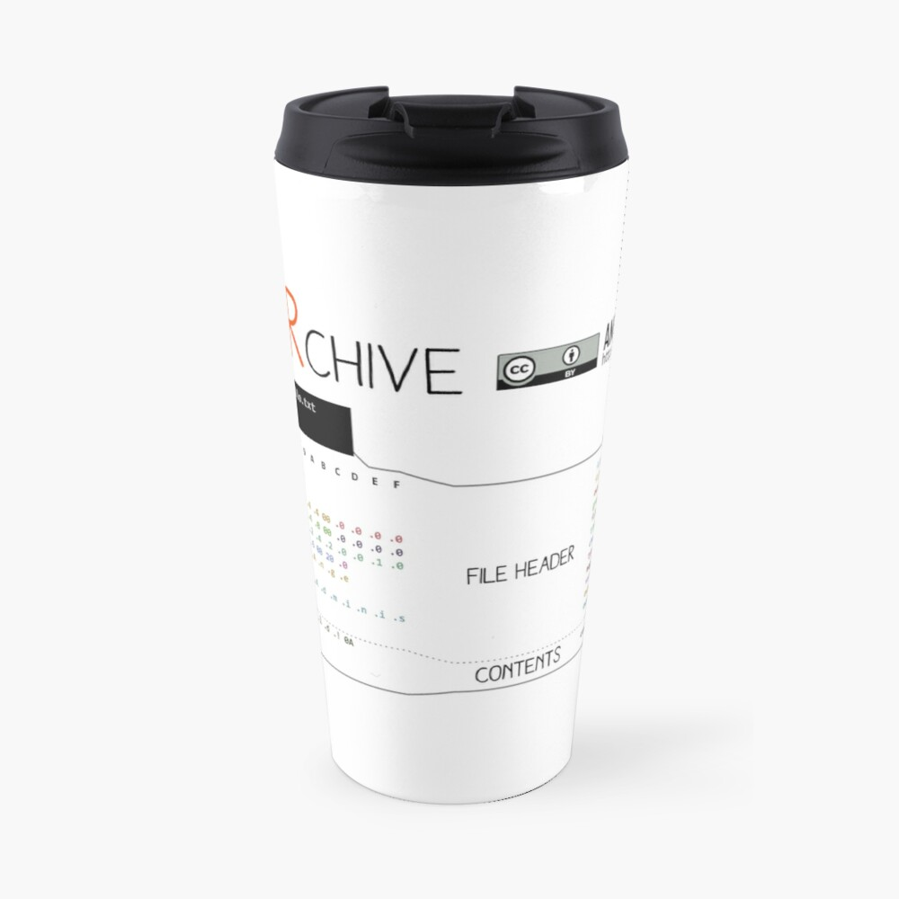 .TAR: the Tape Archive Travel Mug