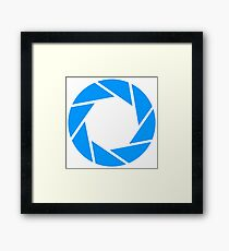 Aperture science Framed Print