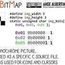 .XBM: X Bitmap by Ange Albertini