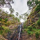 Silverband Falls by Harry Oldmeadow
