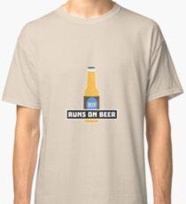 Runs on Beer R7ta2 Classic T-Shirt