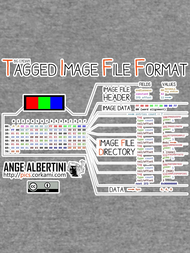 .TIFF : Tagged Image File Format (big endian) by Ange4771