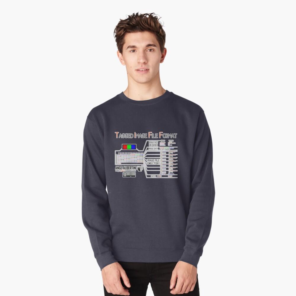 .TIFF : Tagged Image File Format (little endian) Pullover Sweatshirt