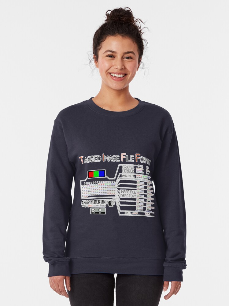 Alternate view of .TIFF : Tagged Image File Format (little endian) Pullover Sweatshirt