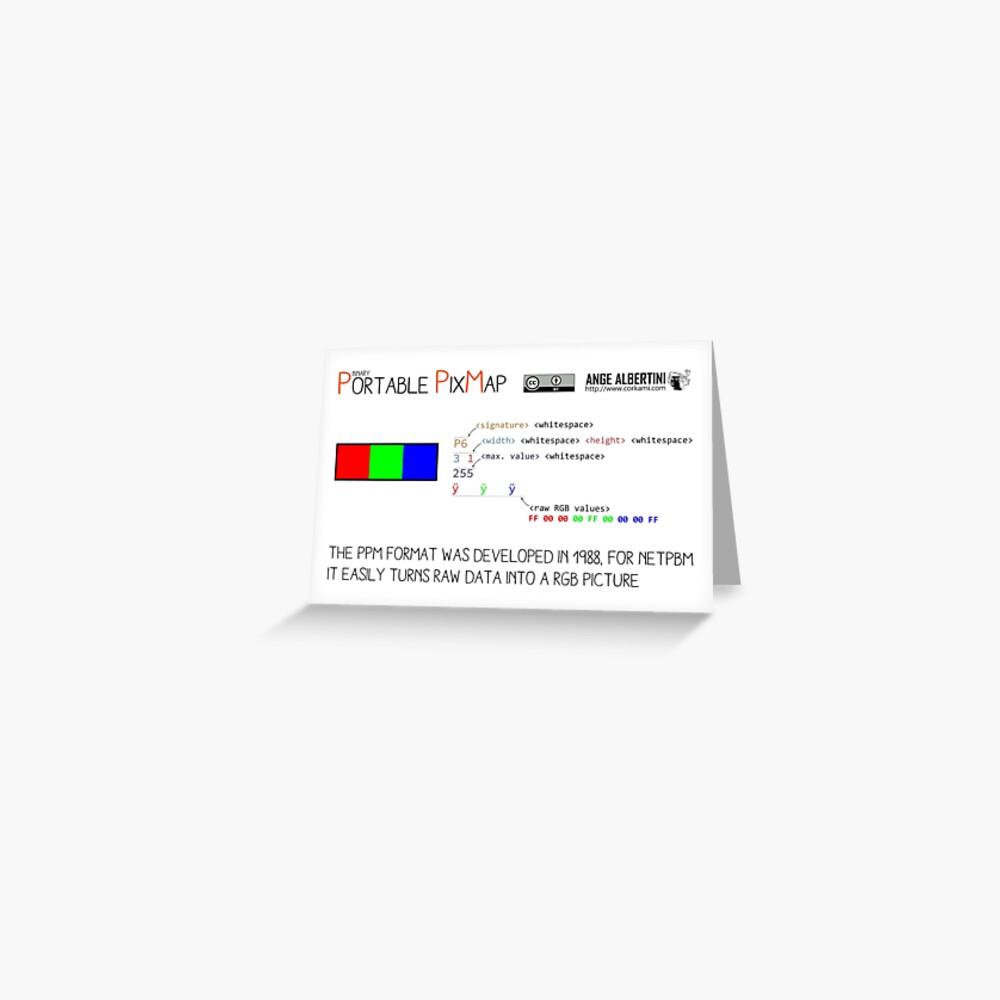 .PPM: Portable Pixmap Greeting Card