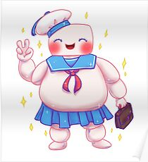 Stay Cute and Puft Poster