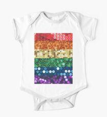 sequin pride flag Kids Clothes