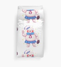 Stay Cute and Puft Duvet Cover