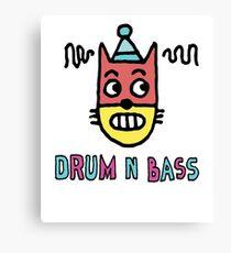 Drum N Bass Canvas Print