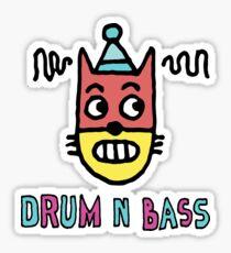 Drum N Bass Sticker
