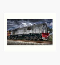Diesel Electric Locomotive 4501 Art Print