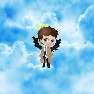 Supernatural Castiel Chibi Sky by Dacdacgirl