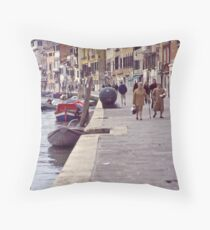 Venice - Day to Day   Throw Pillow