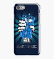 Don't Blink iPhone Case/Skin