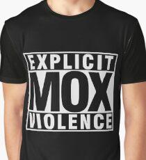 Explicit Mox Violence Graphic T-Shirt