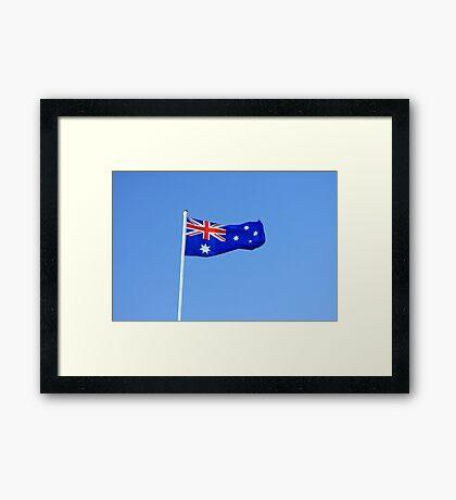 Australian Flag Framed Print