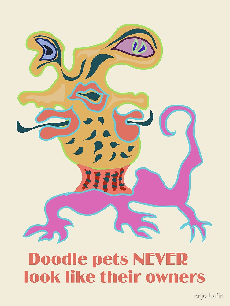 Doodle pets NEVER look like their owners by Anjo Lafin