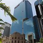 Old versus New, Sydney cityscape by ©Josephine Caruana