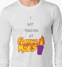 Flaming Moe's Long Sleeve T-Shirt